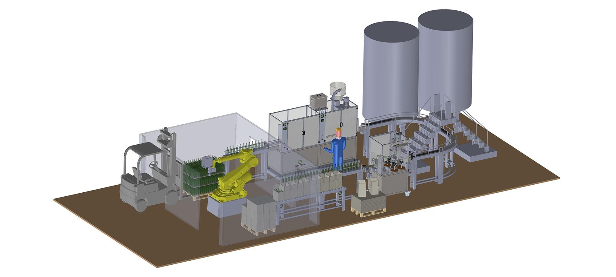 Electron, linee di automazione industriali complete | Arezzo