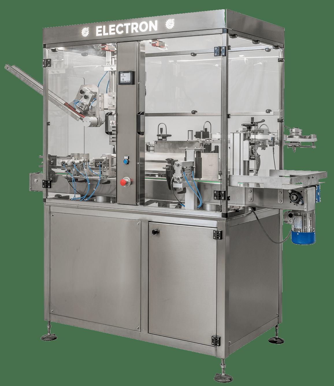 Etichettatura Electron | Teste etichettatrici e monoblocchi automatici